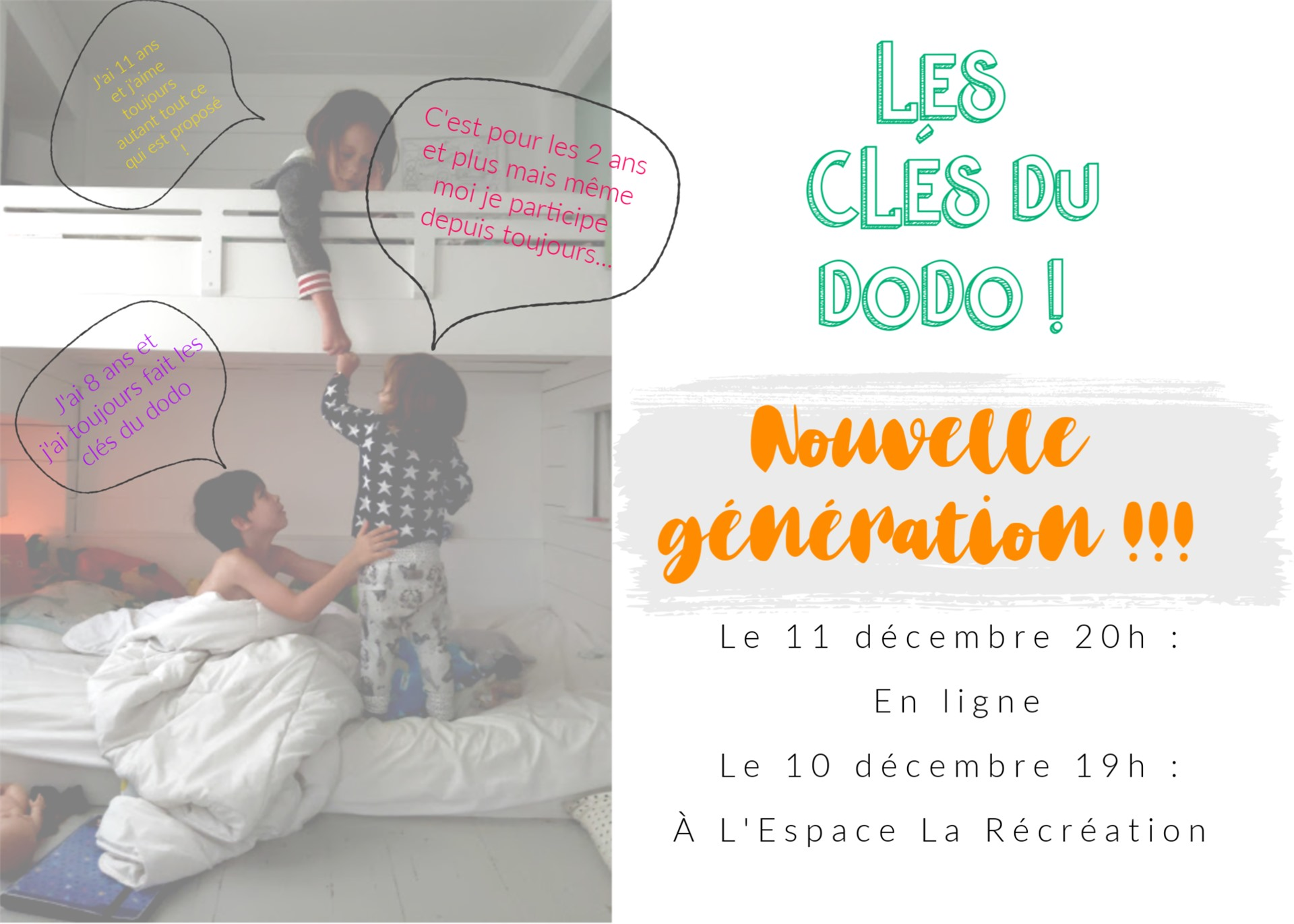 La Recreation Famille en vedette